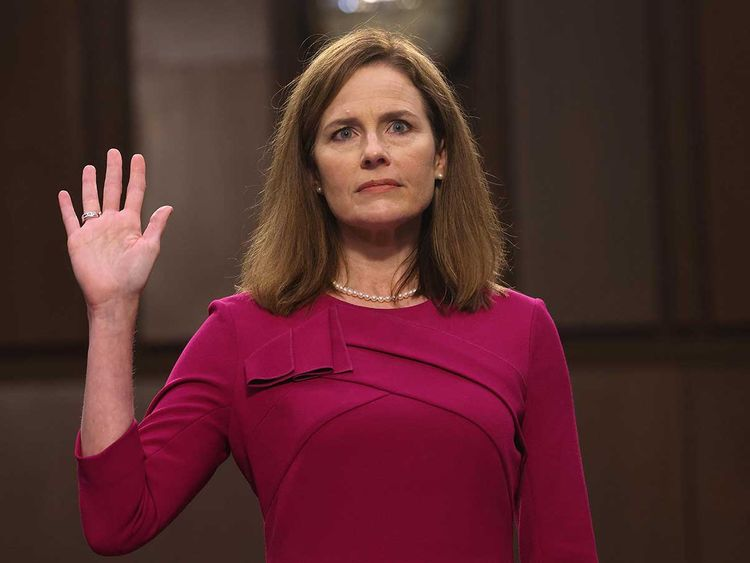Amy Coney Barrett Hearings Are About Us Elections Not The Law Op Eds Gulf News