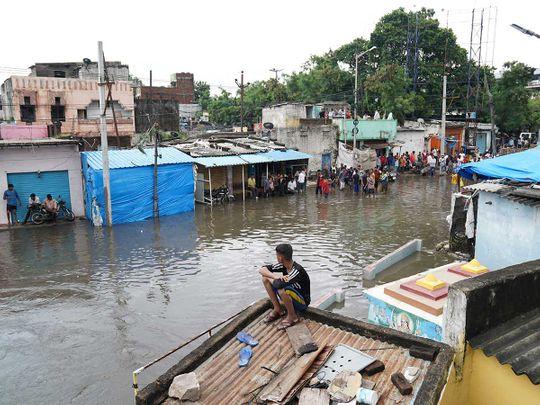 Hyderabad rain flood