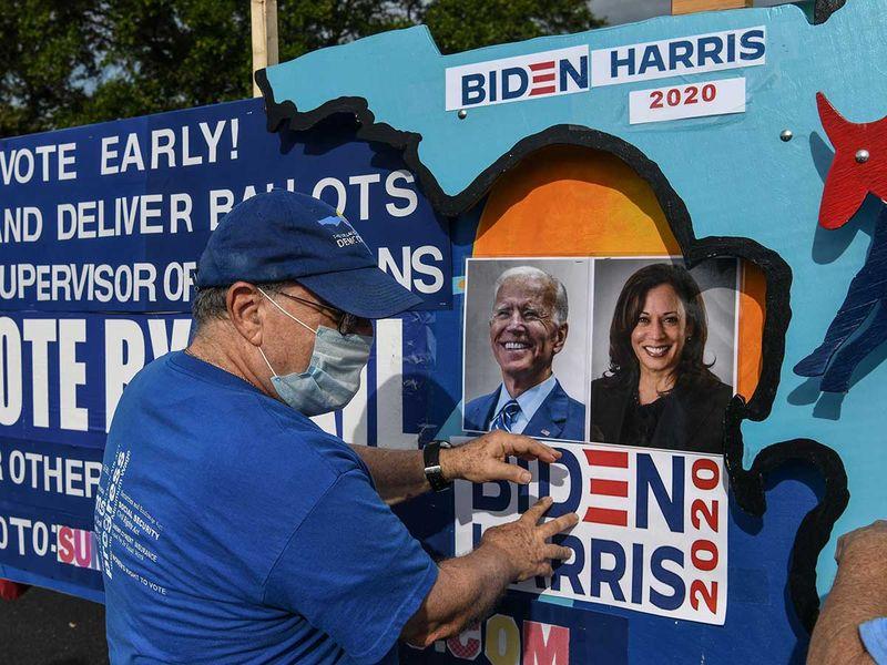 Joe Biden supporters Florida