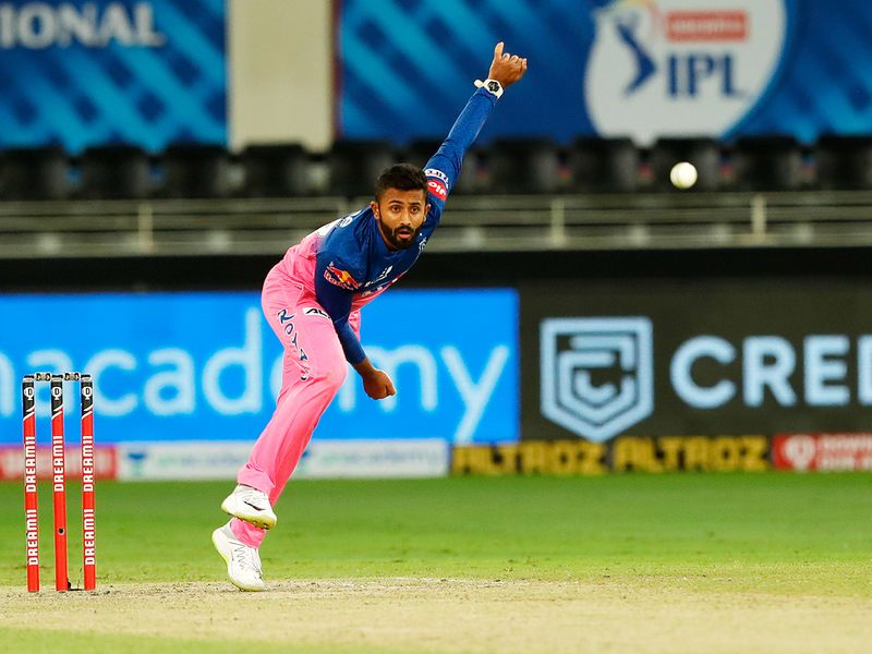 Shreyas Gopal of Rajasthan Royals