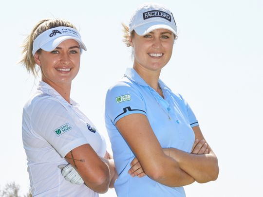 Amy Boulden and Camilla Lennarth will compete at the Saudi Ladies Team International