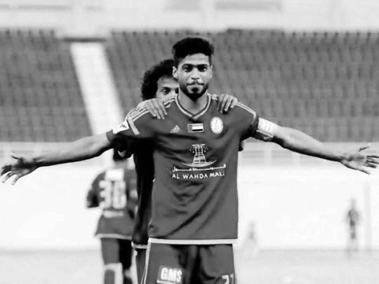 Emirati footballer Sultan Saif