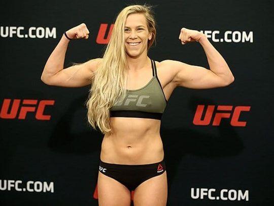 Katlyn Chookagian, the No 1 ranked UFC women's flightweight contender