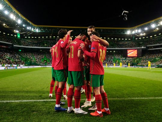 Portugal defeated Sweden 3-0 in the Uefa Nations League in Lisbon