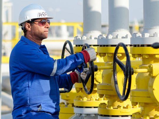 Stock Dana gas in Egypt