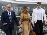 Trump Barron Melania