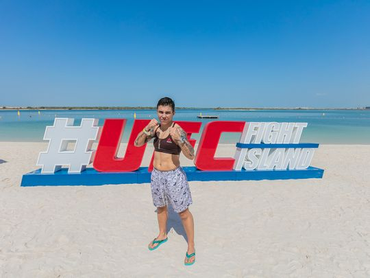 UFC fighter Jessica Andrade