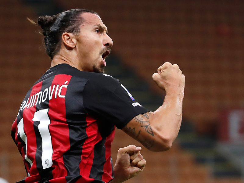 Zlatan Ibrahimovic sent off during AC Milan win against Parma: Unexplained red shown to Swedish striker after exchanging words with referee