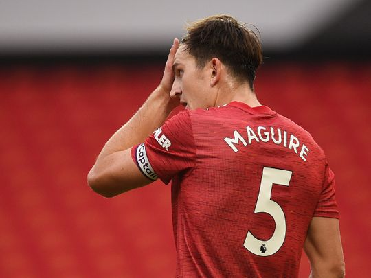 Manchester United captain Harry Maguire is having a torrid time on and off the field.