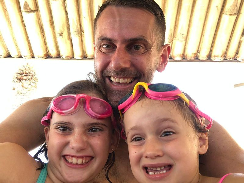 NAT Jamie Atherton and his children-1602854460196