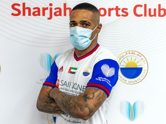 Sharjah show of their Big Heart Foundation sleeve sponsor