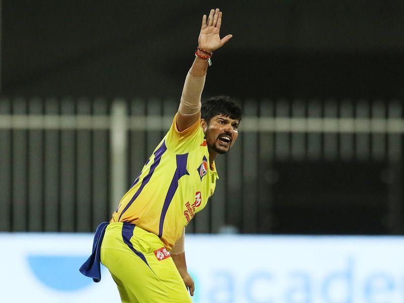 Karn Sharma of Chennai Super Kings