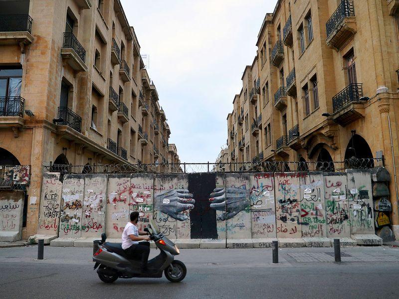 Lebanon protest anniversary