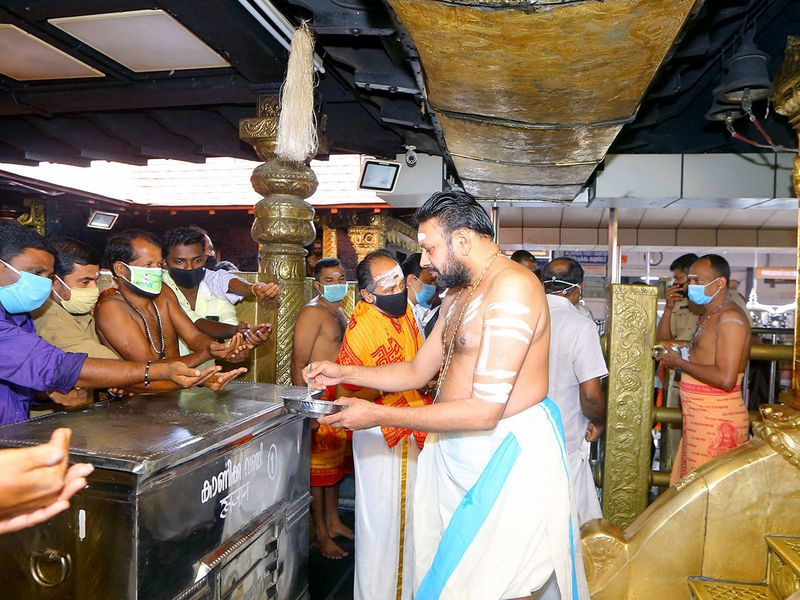 Sabarimala temple reopens