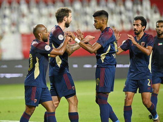 Al Wahda thumped Hatta in the AGL