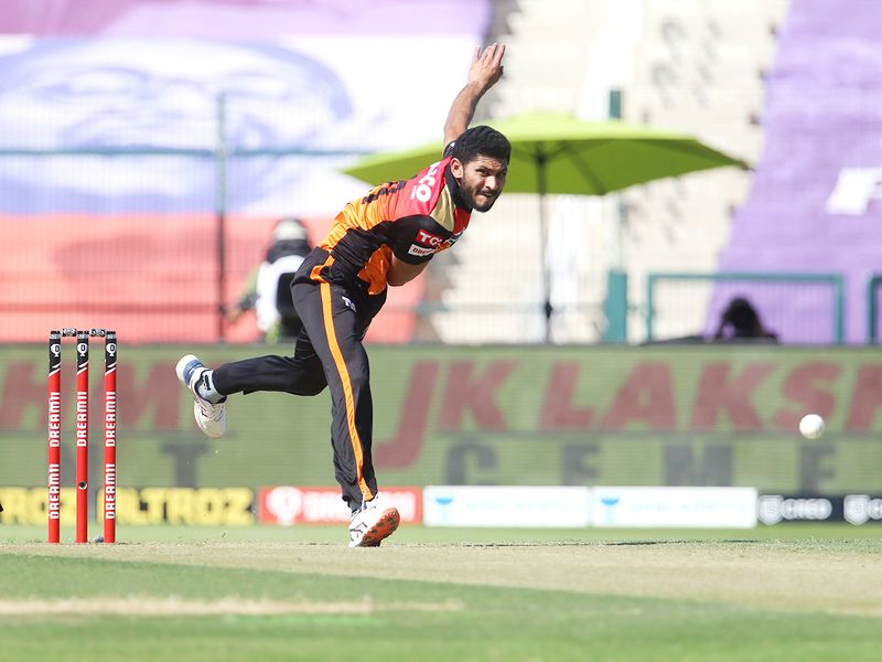 Basil Thampi of Sunrisers Hyderabad