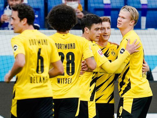 Borussia Dortmund picked up the three points