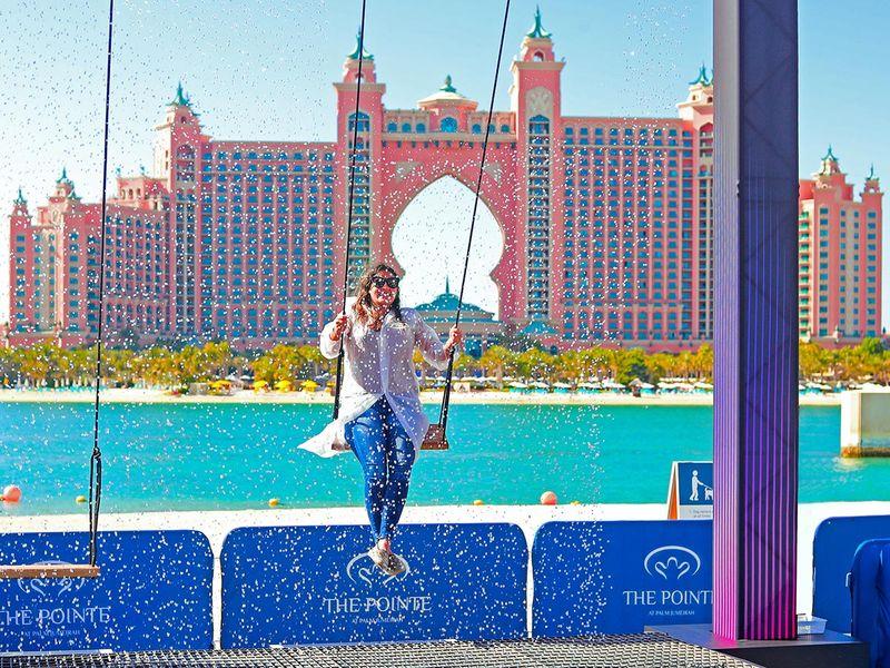 Dubai Water Swing