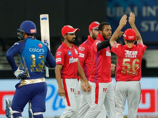 Kings XI Punjab players