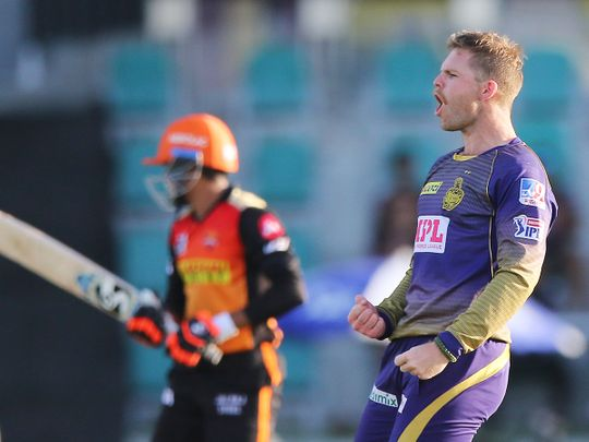 Lockie Ferguson of Kolkata Knight Riders