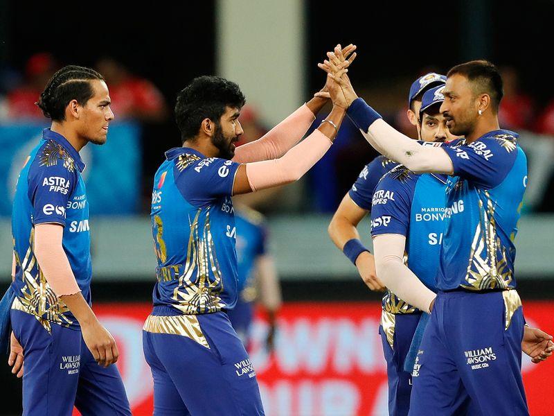 Mumbai Indians players c