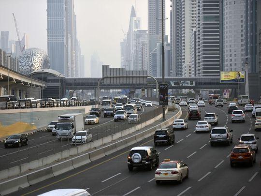 NAT Dubai traffic