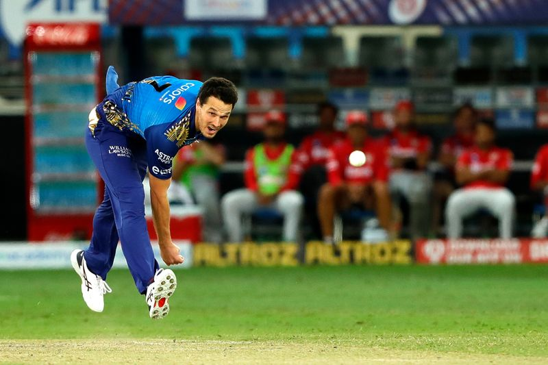 Nathan Coulter-Nile of Mumbai Indians