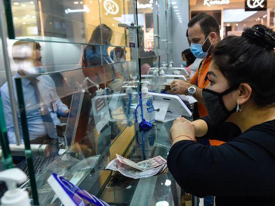 Stock Money exchange dirhams currency