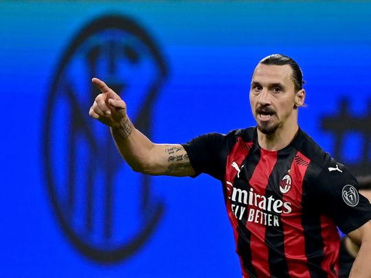 Zlatan Ibrahimovic was the Hero for AC Milan against Inter