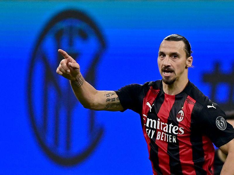 Zlatan Ibrahimovic was the Hero for AC Milan against Inter
