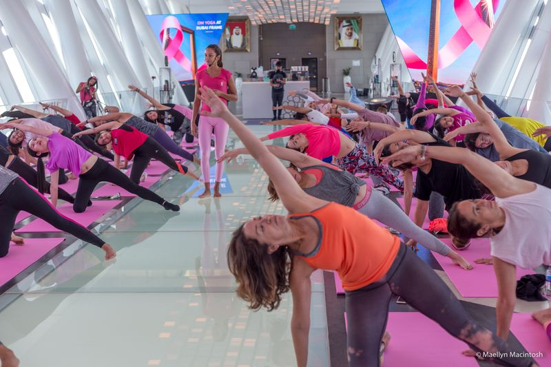 DIFC Yoga Class with Inspire