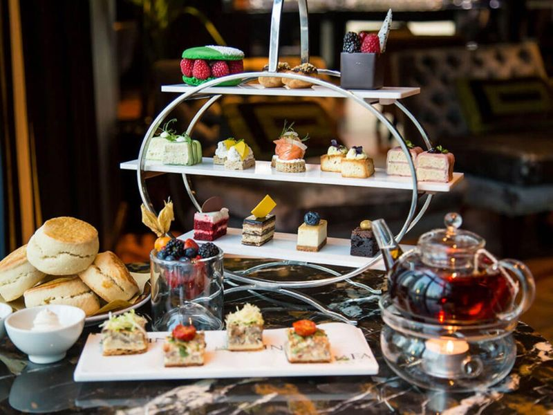 La FArine Afternoon Tea