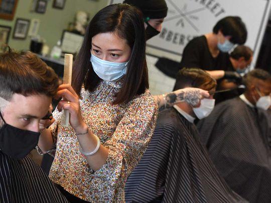 Melbourne Australia salon barber