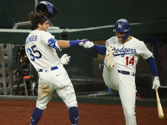 The LA Dodgers are back in the World Series