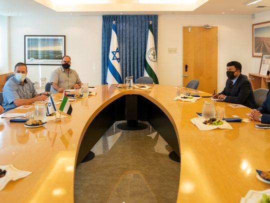 UAE Israel delegation