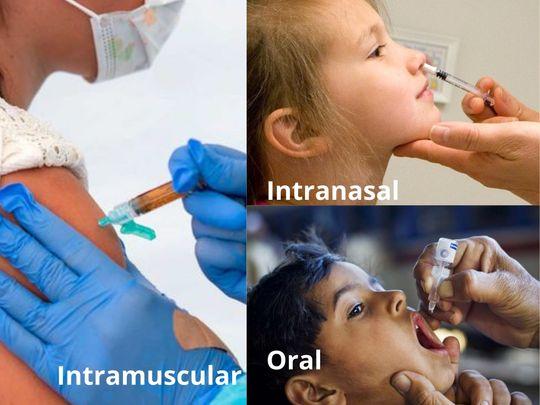 Vaccine administrationtypes