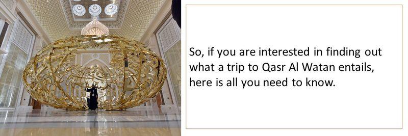 What happens at the Qasar Al Watan tour?