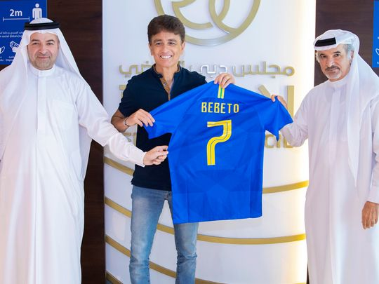 Football-Bebeto