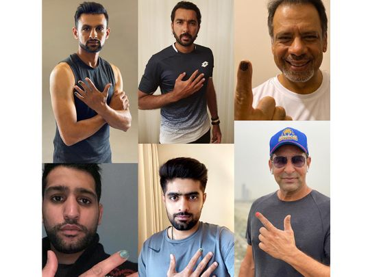 Pakistani male celebrities participate in Polished Man campaign