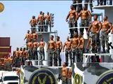 Shirtless Egyptian Police Academy cops go viral
