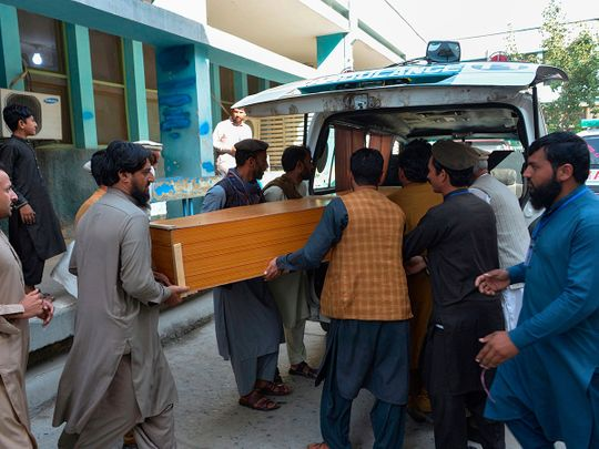 Afghan stampede