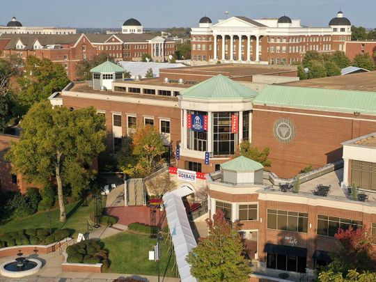 Belmont University campus Nashville, Tennessee US