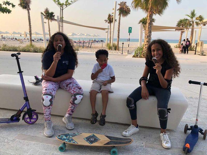 Esraa's children