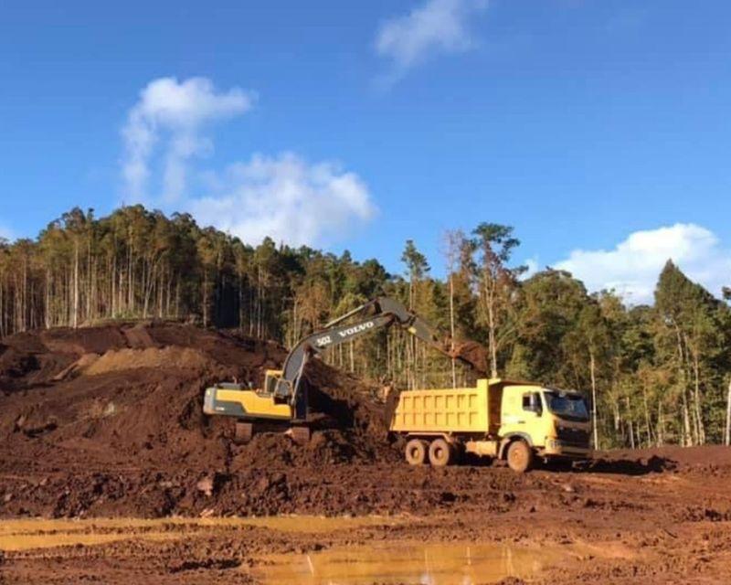 Nickel Ore Mine Philippines