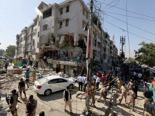 Pakistan blast karachi