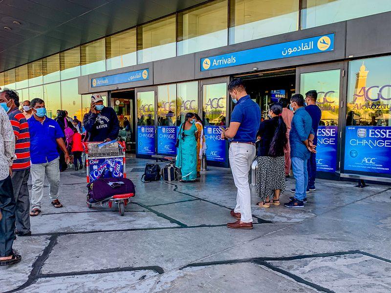 Stock Dubai airport terminal 2
