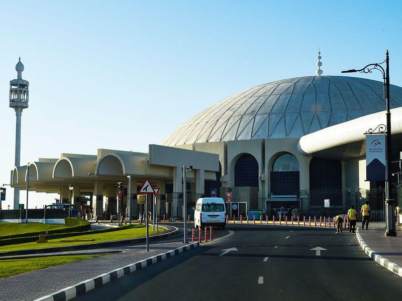 Stock Sharjah airport