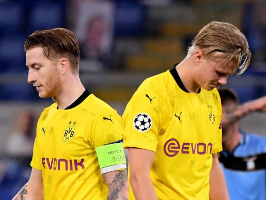 Borussia Dortmund were poor in the Champions League loss to Lazio