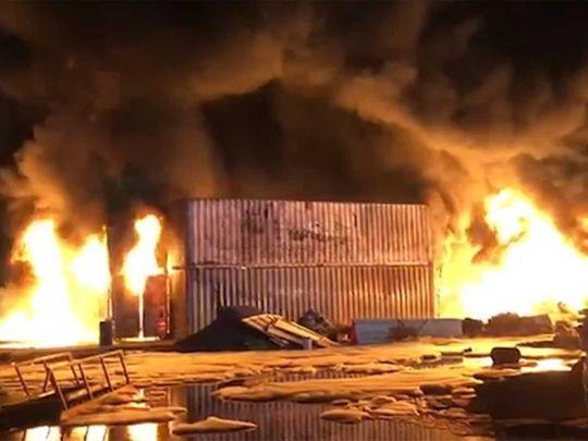 Fire in UAQ