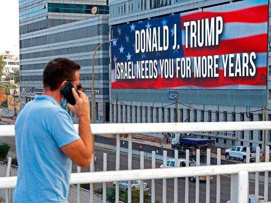 Israel Trump support